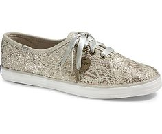 keds champion glitter lace canvas sneaker