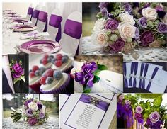 Gorgeous purple wedding ideas featured on hitched.co.uk