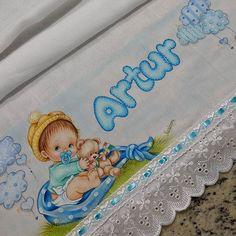 Pintura em Tecido/Enxovais/Apostilas de pintura em tecido - Mossoró/RN
