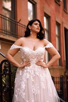 Garden Wedding Dresses, Princess Wedding Dresses, Tulle Wedding, Bridal Wedding Dresses, Dream Wedding, Bridal Style, Ivory Wedding, Mermaid Wedding, Plus Size Wedding Dresses With Sleeves