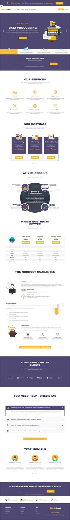 OrionHost is clean and unique design 2in1 responsive #WordPress theme for web #hosting and #domain registration business website download now➩ https://themeforest.net/item/orionhost-web-hosting-domain-technology-responsive-wp-theme/19302075?ref=Datasata