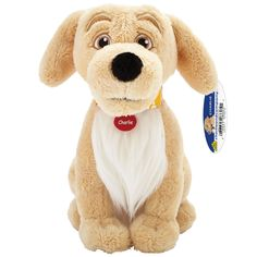 "Give your child a snuggle pal who chases learning! ""Hi, I'm Charlie, the Golden Retriever. I'm a happy, lovable overachiever. My favorite things are walks in the woods and adventures with all my frien"