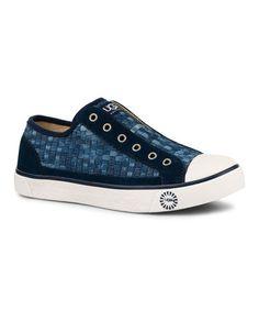 Look what I found on #zulily! Denim Laela Slip-On Sneaker - Women #zulilyfinds