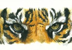 Eye of the Tiger - Fire animal for Kung Fu