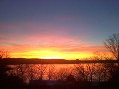 Sunrise Table Rock Lake Branson Mo
