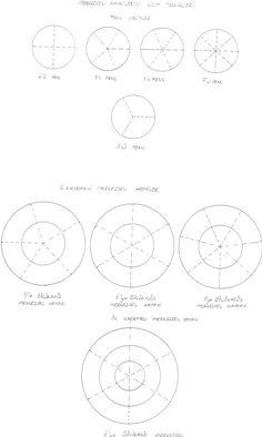 Türk Tezyini sanatında çiçek ve motif çeşitlerinden örnekler | Tezhip Sanatı Islamic Art Pattern, Pattern Art, Pattern Design, Arabesque, Josef Albers, Concept Diagram, Mandala Art, Autocad, Geometry
