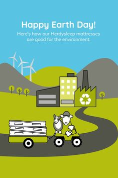 Did ewe know that, in the UK alone, more than 7 million mattresses were disposed of in with only being recycled? Here's how Herdysleep are changing the game. Ways To Sleep, Happy Earth, Mattresses, Earth Day, Sheep, Recycling, Environment, Game, Bedroom