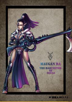Maugan Ra, the Harvester of Souls
