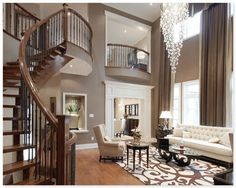 taupe living, fav house color!