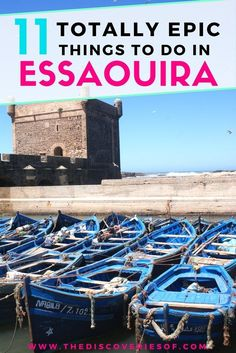 Travel to Morocco and discover the hippy city of Essaouira. From fashion to food, design, style and shopping, here are 11 things to do in Essaouira you will not want to miss.