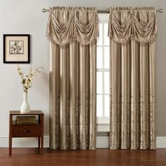Felice Embroidered Window Valance   Overstock.com Shopping - The Best Deals on Valances