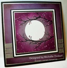 DSC_0024.  Colors: Plum, blackberry, sponge, Black Memento. Stamps: Gorgeous Grunge, Beauty of the Season. Markers, white gel. Washi: All is Calm.