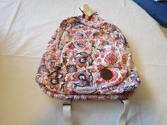 Roxy Girls juniors book bag back pack bookbag surf skate Multi floral hrt NEW*^ #Roxy #Bookbag