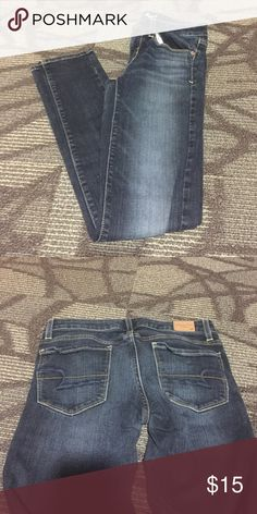 "American eagle skinny jeans ""Stretch skinny"" EUC American Eagle Outfitters Jeans Skinny"