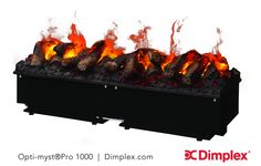 Buy the Dimplex Gunmetal Direct. Shop for the Dimplex Gunmetal Wide BTU 120 Volt Built-In Electric Fireplace with Opti-Myst Burner and save. Realistic Electric Fireplace, Built In Electric Fireplace, Electric Fireplaces, Gas Fireplaces, Easy Fill, Fireplace Inserts, Gas Fires, Brushed Stainless Steel, Real Wood