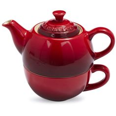 Le Creuset Cherry Tea For One | Sur La Table