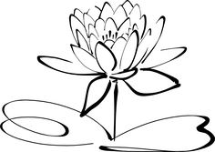 stencils of lotus flower - Google Search