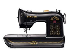 NEW machine from Singer with the vintage look...brilliant of them to do this with so many young women embracing sewing as an art form.