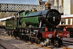 BR (GWR)  Hall class 4-6-0  No 4965 'Rood Ashton Hall' Steam Railway, British Rail, Great Western, Steam Engine, Steam Locomotive, Hogwarts, Vehicle, Image, Train