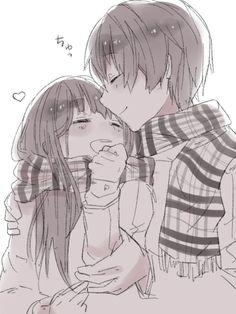 akanechan805:  Anime couple ~ on We Heart It.
