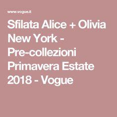 Sfilata Alice + Olivia New York - Pre-collezioni Primavera Estate 2018 - Vogue