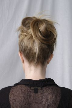 Updo #hair #hairstyle #hairdressing #tafe #updo