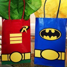 Batman & Robin Gift Bags