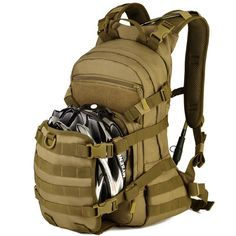 25L Military Tactical Backpack With Expansion Molle System For Cycling //Price: $81.99 & FREE Shipping //     #tacticalgear #survivalgear #tactical #survival #edc #everydaycarry #tacticool