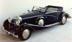 Vintage Cars 1933 Hispano Suiza Cabriolets by VanVooren Retro Cars, Vintage Cars, Antique Cars, Hispano Suiza, Rolls Royce, Best Classic Cars, Sweet Cars, Top Cars, Performance Cars