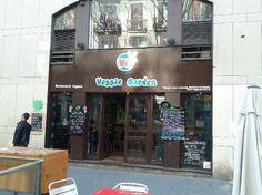Restaurant vegetarià al Raval (BCN)