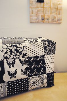 Crafted Love: sewing machine cover tutorial