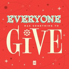 Give a little. Get a lot. http://www.tengav.org/