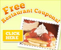 Free Restaurant Coupon For You!