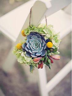 63 Ideas Succulent Wedding Ceremony Aisle Decorations For 2019 Wedding Aisles, Wedding Bouquets, Our Wedding, Cake Wedding, Wedding Beach, Wedding Tips, Trendy Wedding, Wedding Blog, Wedding Chair Decorations