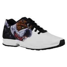 0349b26d7 Adidas Originals ZX Flux Men s White Black Running Shoes 2015 For Sale