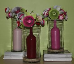 Wanessa Carolina creations: HOW TO MAKE A WHIMSICAL CENTERPIECE - DIY SATURDAY projects-i-want-to-do
