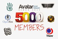 Avatar Social Network (ASN) has over 5000 members. Join Today and Connect with other Virtual World Enthusiasts ~ The SL Enquirer