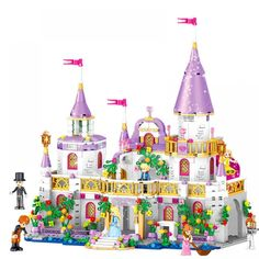 SALE 731 Pcs Princess Castle Windsor& Castle DIY Model Building Blocks Bricks Kit Toys Girl Birthday Gifts Compatible with Legoings Birthday Gifts For Best Friend, Birthday Gifts For Girls, Best Friend Gifts, Girl Birthday, Model Building Kits, Building Blocks Toys, Christmas Gifts For Girls, Gifts For Kids, Romantic Princess