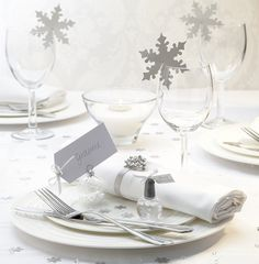 Winter Wedding Theme - Snowflake by Confetti.co.uk, via Flickr