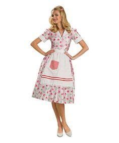 Look what I found on #zulily! 50s Housewife Costume Set - Women #zulilyfinds