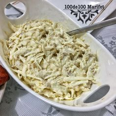 Walnut White Cabbage Salad Recipe, How To? Cabbage Salad Recipes, Recipe Sites, Coconut Flakes, Macaroni And Cheese, Diet Recipes, Spices, Vegetables, Cooking, Ethnic Recipes