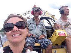 Selfie taken on the airboat Airboat Rides, Mens Sunglasses, Florida, Selfie, Fashion, Moda, Man Sunglasses, Fashion Styles, Men's Sunglasses