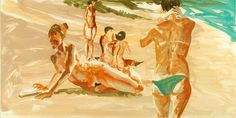 Eric Fischl | Untitled | Seavest Collection