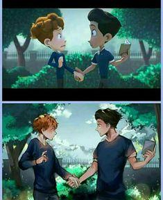 When Animation Turns in Anime ❤️❤️❤️ Anime Vs Cartoon, Comic Anime, Gay Comics, Cute Comics, Yuri, Film Gif, Film Movie, Lgbt Memes, Lgbt Love