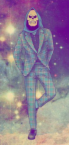 Hipster He-Man + Bonus Hipster Thundercats Moda Hipster, Estilo Hipster, Hipster Art, Thundercats, Hipsters, Mode Bizarre, Geeks, Retro Cartoons, Vida Real