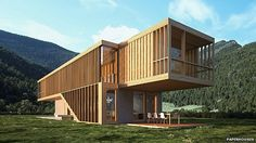 The Folk House by Spora - download free blueprints from Paperhouses