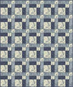 Sew Hopscotch, a Beginner-Friendly Baby Quilt Pattern: Optional Layout for the Hopscotch Baby Quilt