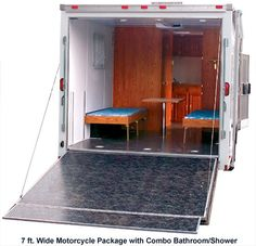 Watch additionally Mobile offices furthermore Cargo Trailer Conversion further  as well Goose fifth. on trailer house floor plans