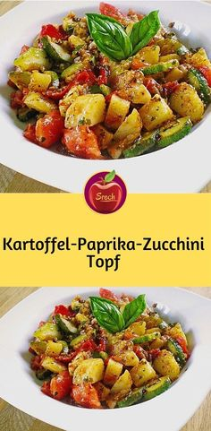 Kartoffel-Paprika-Zucchini-Topf Ingredients for 3 servings 4 large potatoes 1 large bell pepper, red 1 zucchini 3 tomato 1 carrot Rezepte Zucchini, Clean Eating, Healthy Eating, Vegetarian Recipes, Healthy Recipes, Hamburger Meat Recipes, The Best, Easy Meals, Veggies