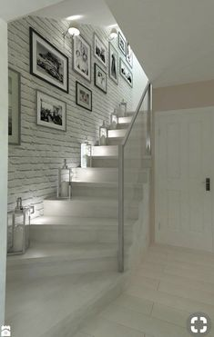 hallway decorating 140807925838251611 - Trendy basement stairs lighting ideas Ideas Source by apaudreyprice Basement Stairs, House Stairs, Basement Ideas, Hallway Ideas, Interior Design Living Room, Living Room Designs, Interior Decorating, Home Deco, Flur Design